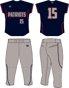 Softball team uniforms