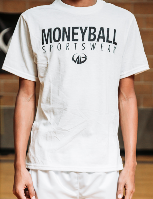 Moneyball Sportswear Classic Tee - Youth (White)
