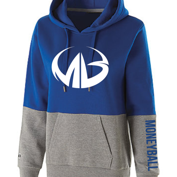 855405b5 Color-Blocked Hoodie by Moneyball | Hoodies | Moneyball Sportswear