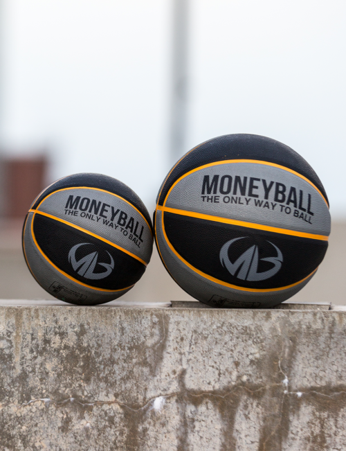 Rubber Basketball | Mini Basketball | Outdoor Basketball | Moneyball Basketball