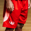 Moneyball Sportswear Rise Shorts (Youth) - Red