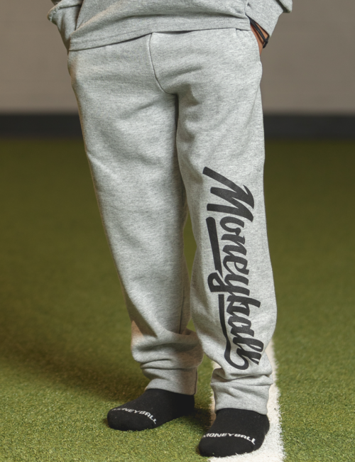 Moneyball Sportswear Lifestyle Kids Joggers - Grey